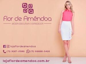 Moda Evangélica - Flor de Amêndoa